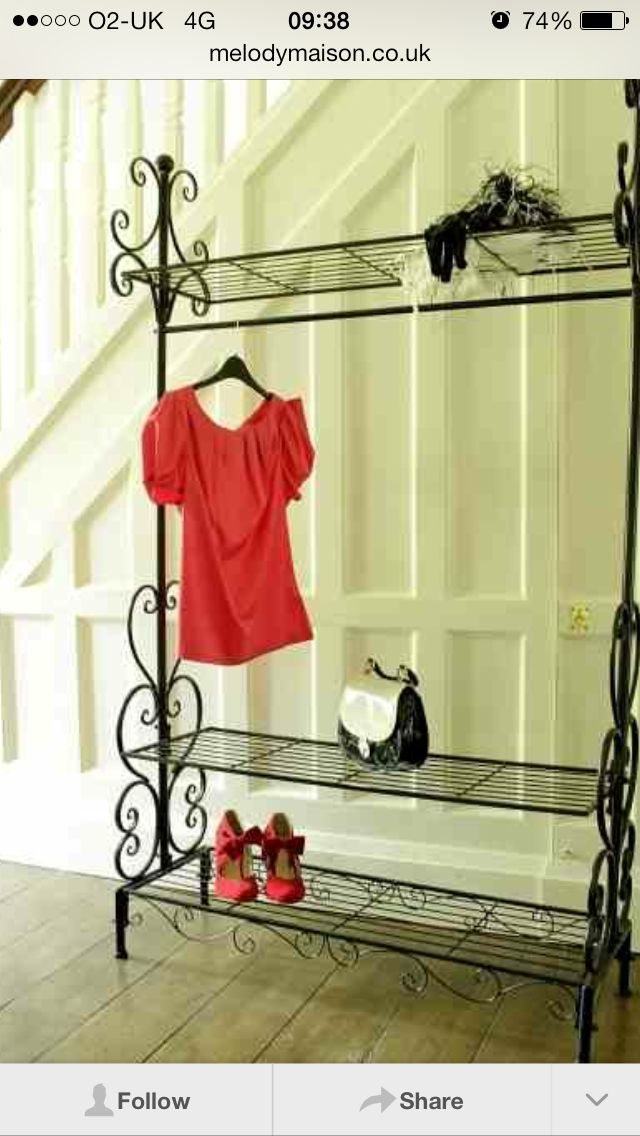 vintage style clothes rail uk, pretty clothes rail | casa, horta e jardim | pinterest | clothes, Design ideen