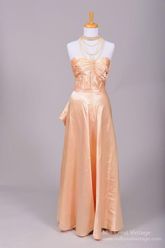 Lovely vintage evening gown | Designer Vintage Gowns & More ...
