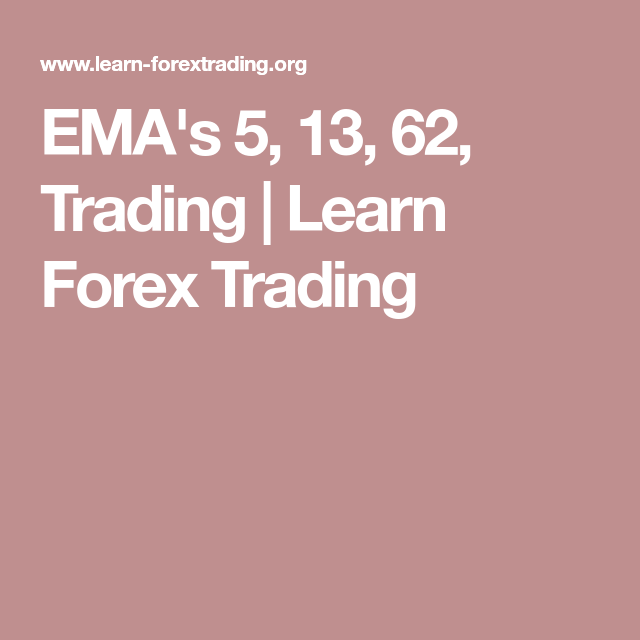 Ema S 5 13 62 Trading Learn Forex Trading Forex Forex