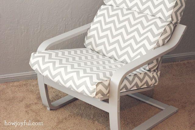 Nursery Ikea Poang Chair Recover Bebe One Day Ikea