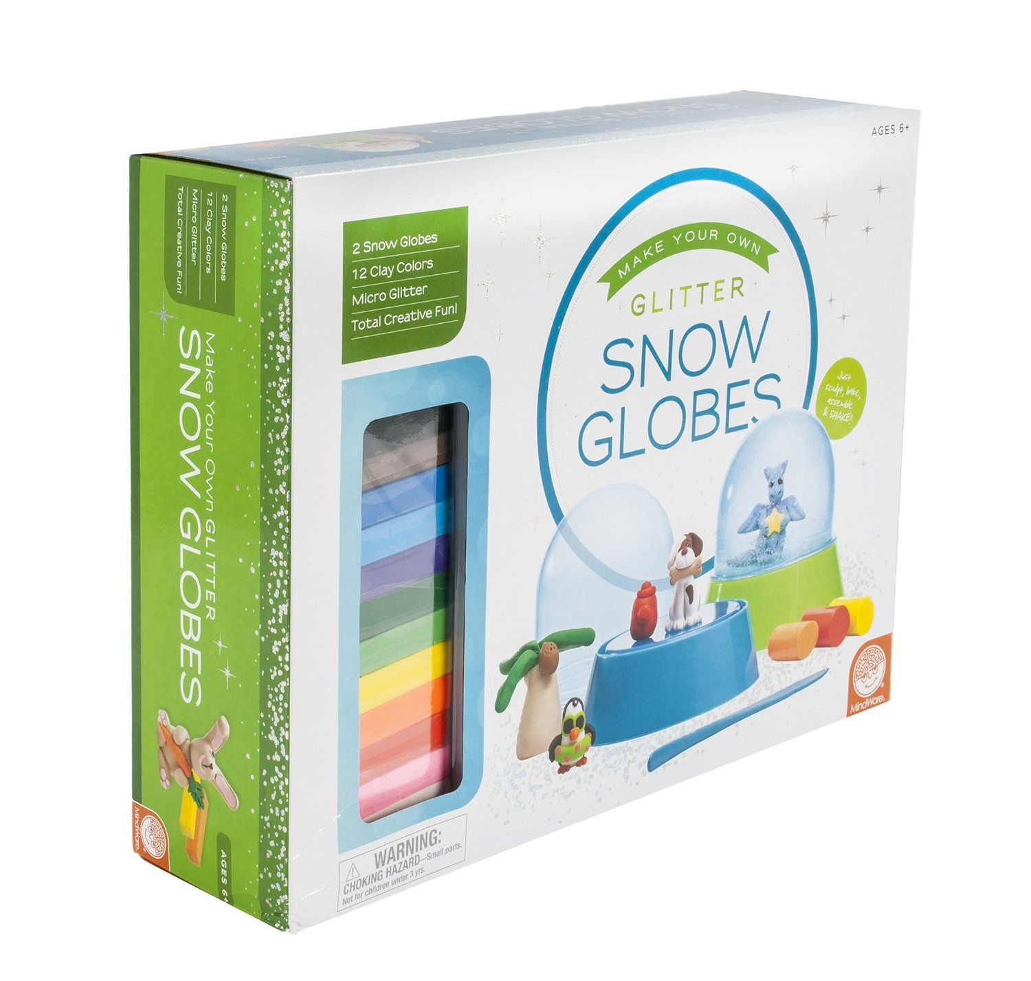 Gifts for 7 Year Old Girls Snow globe kit, Snow globes