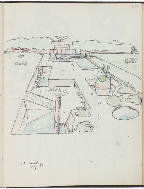 Le Corbusier Exhibition At MoMA: Governoru0027s Palace, Chandigarh, 1951 65