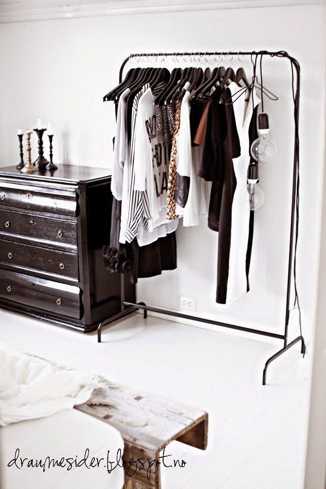 Stylish Bedroom Chambre Elegante Portant Vetement Armoire Ouverte