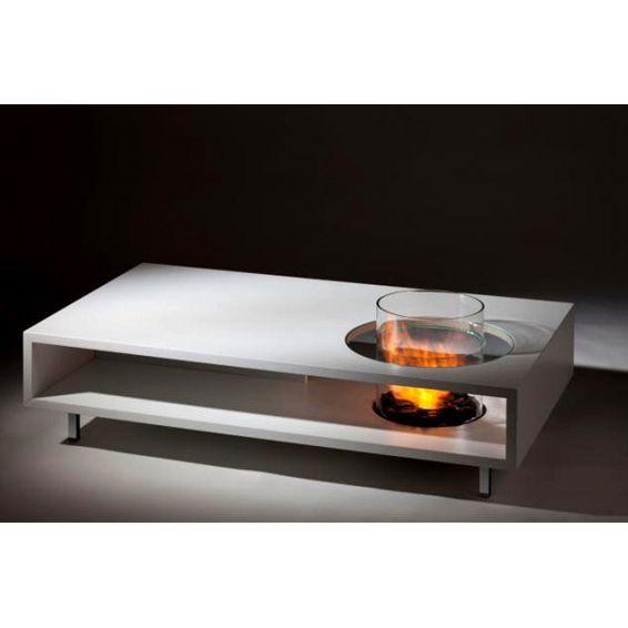 Coffee Fire Bio-Fuel Fireplace Coffee Table | Working Wonders - Coffee Fire Bio-Fuel Fireplace Coffee Table Working Wonders