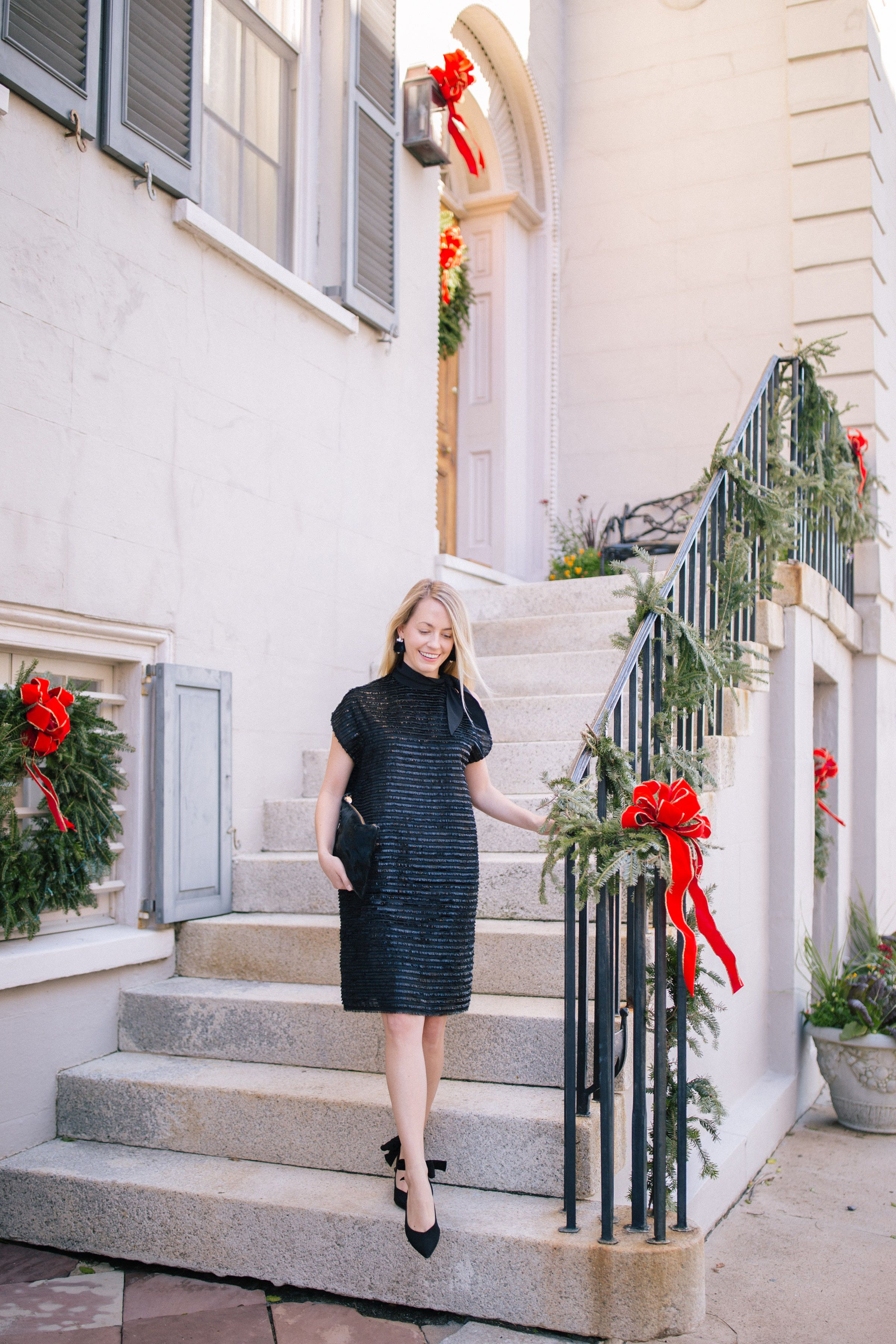 113b3e2b5f70 Little black holiday cocktail dresses + what to wear to a fancy holiday  party | Rhyme & Reason