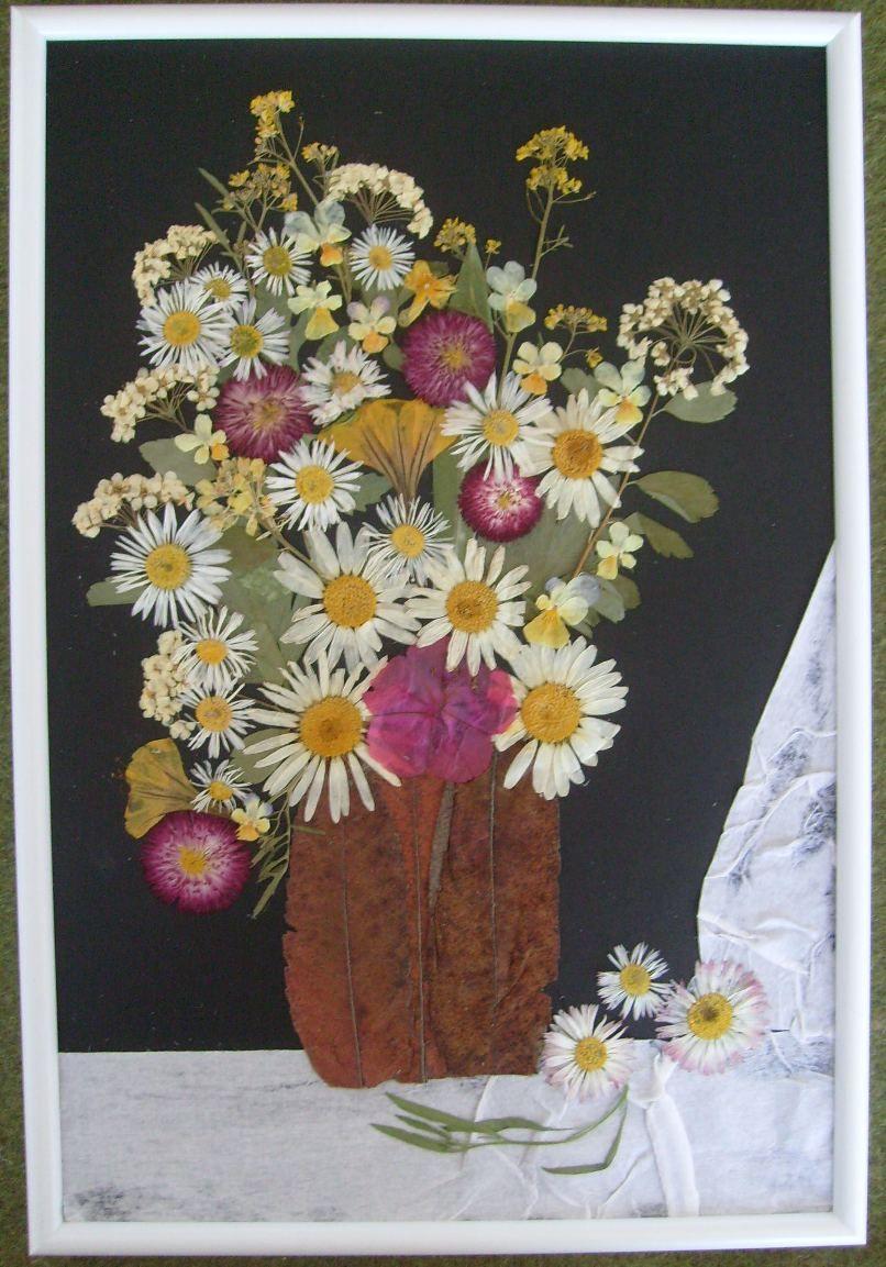 21++ Pressed flower art crafts ideas