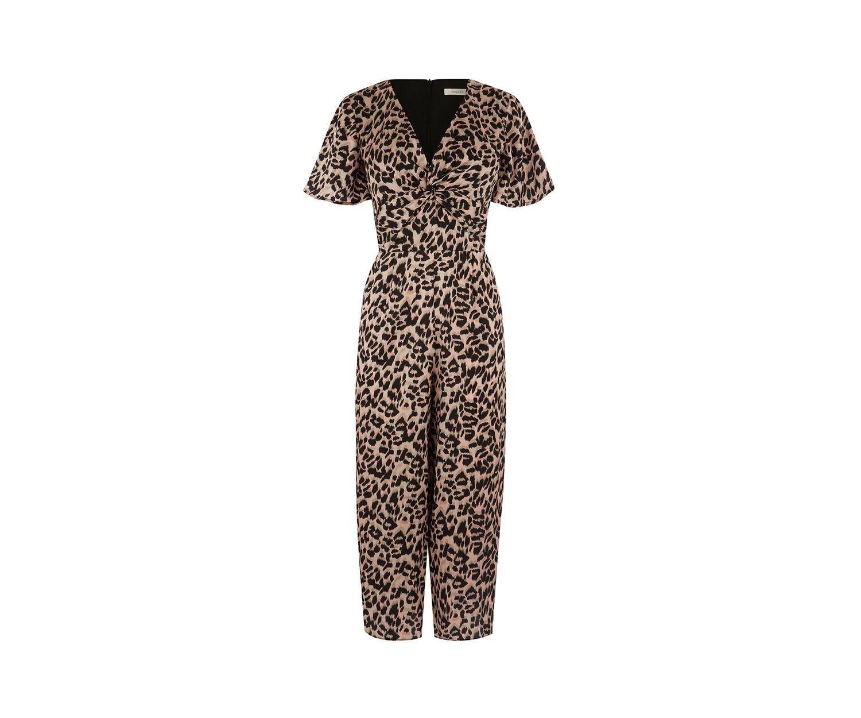 0f4a30d018 AdoreWe  Oasis -  Oasis Leopard Culotte Jumpsuit - AdoreWe.com ...