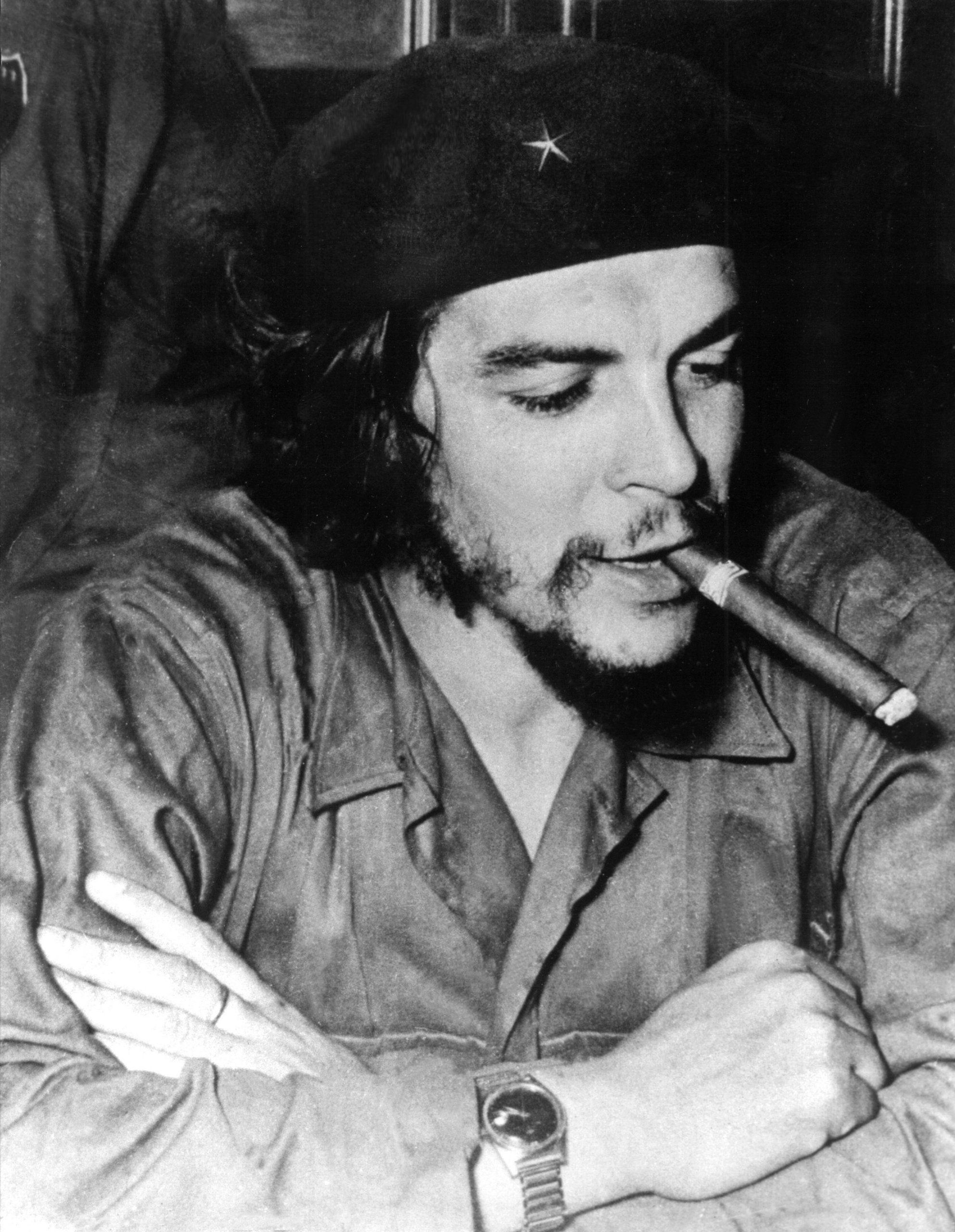 Intelligent Blechdose Che Guevara Zigarren Zigarrendose Rot Sonstige Blechspielzeug