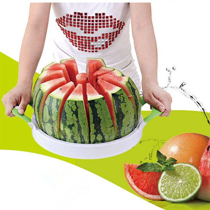 New Watermelon Cutter Kitchen Cutting Tools Watermelon Slicer Fruit Watermelon Divider Tool Kitchen gadgets #