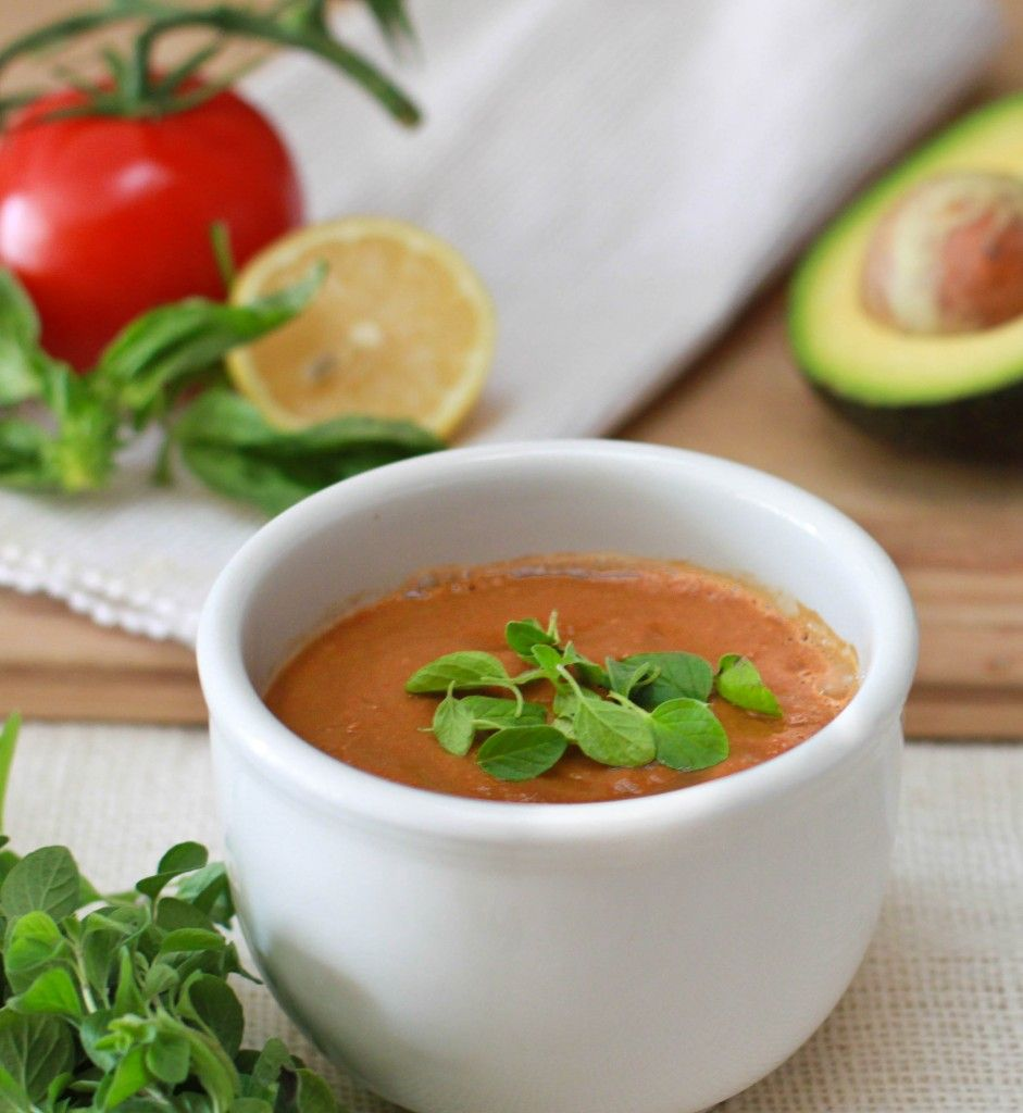 5 Minute Tomato Basil Soup from Linda Wagner