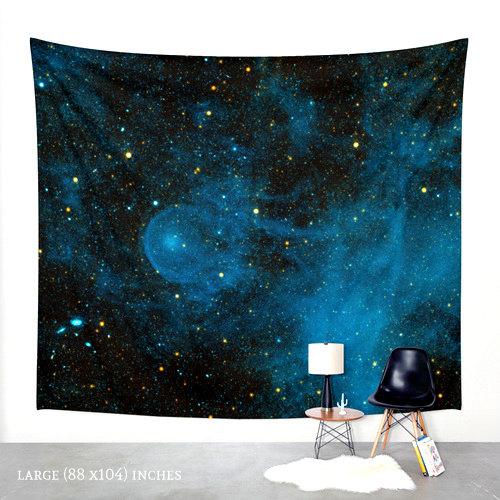 Todas Necesitamos Nuestro Universo Privado Decoración De Galaxias Decoración De Pared Negra Tapicería Colgante De Pared