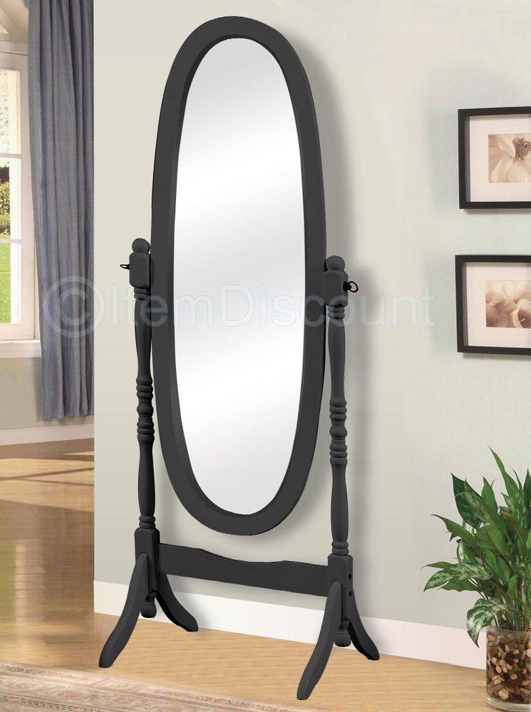 freestanding bathroom mirrors black cheval oval mirror length bathroom tilting 12913