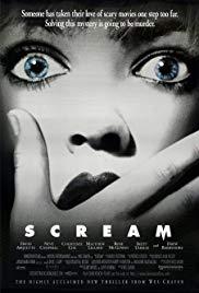 Scream Poster Scream Movie Scream Movie Poster Scary Movies