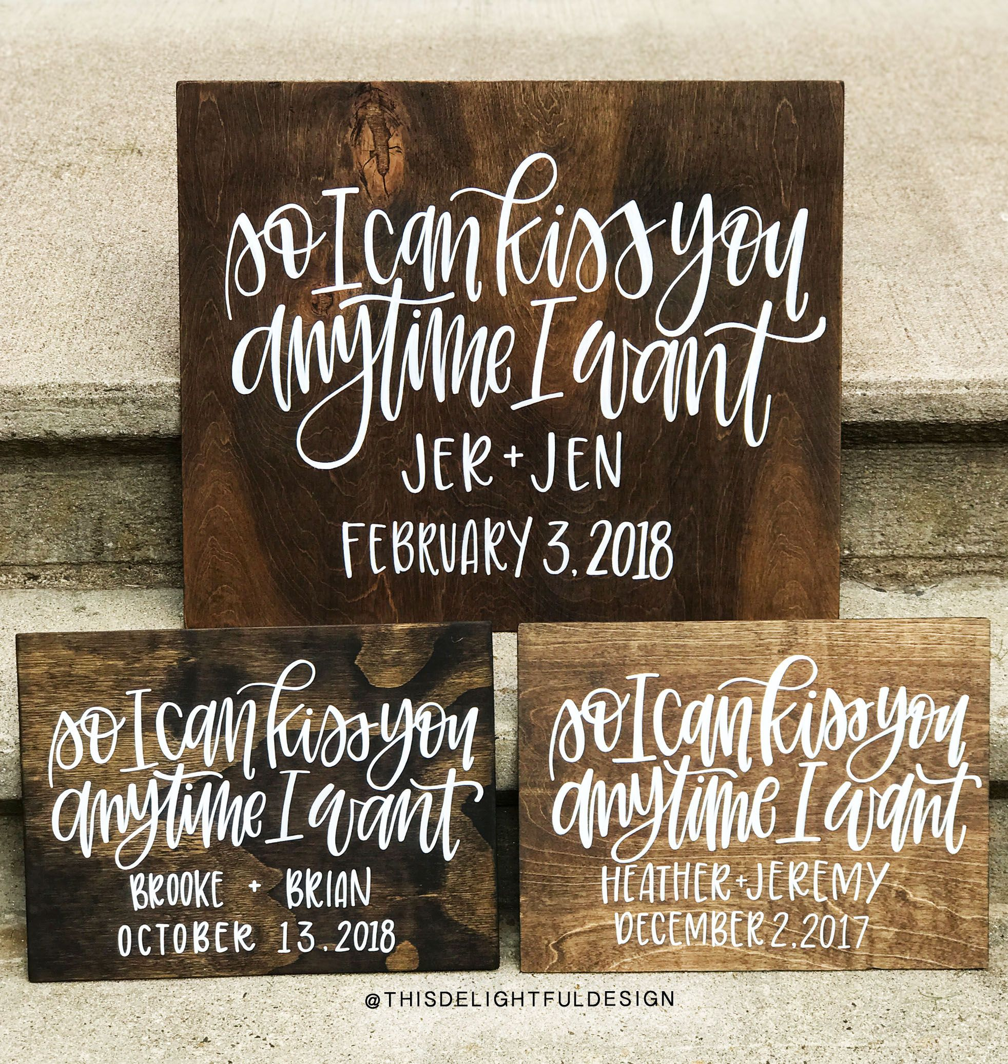 Wedding decorations for home december 2018 So I can Kiss You Anytime I want  Sweet Home Alabama  Quote