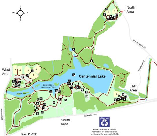 Centennial Park- I miss this place! 2.4 miles | Things I miss ... on map of city of centennial services, map of columbia park, map scale amusement park, map of picnic areas at hermann park,