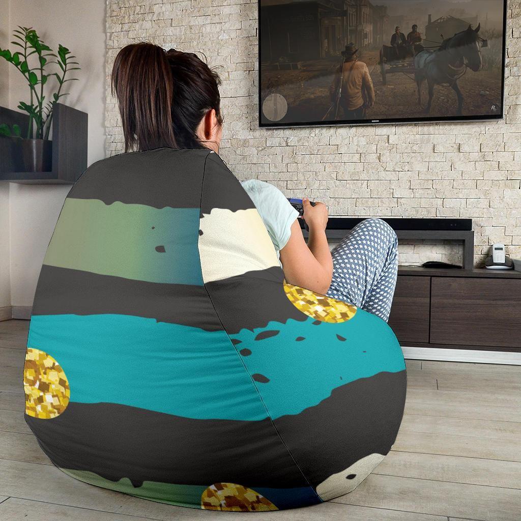 Amazing Luxury Neon Strips Bean Bag Chair Bean Bag Chair V Roku 2019 Machost Co Dining Chair Design Ideas Machostcouk