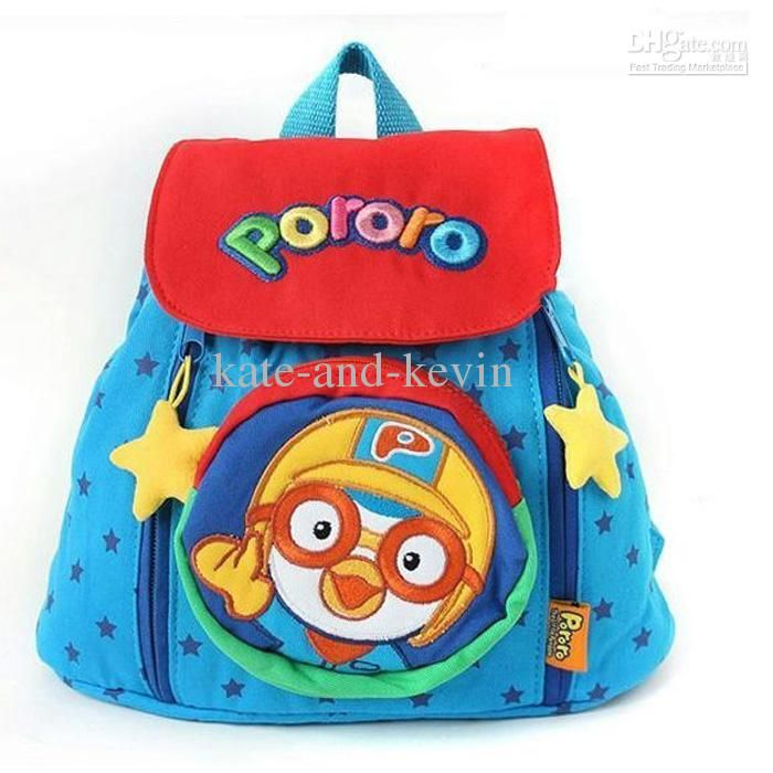 pororo Cute kids bag Baby bag Baby shoulder star bags Children ...