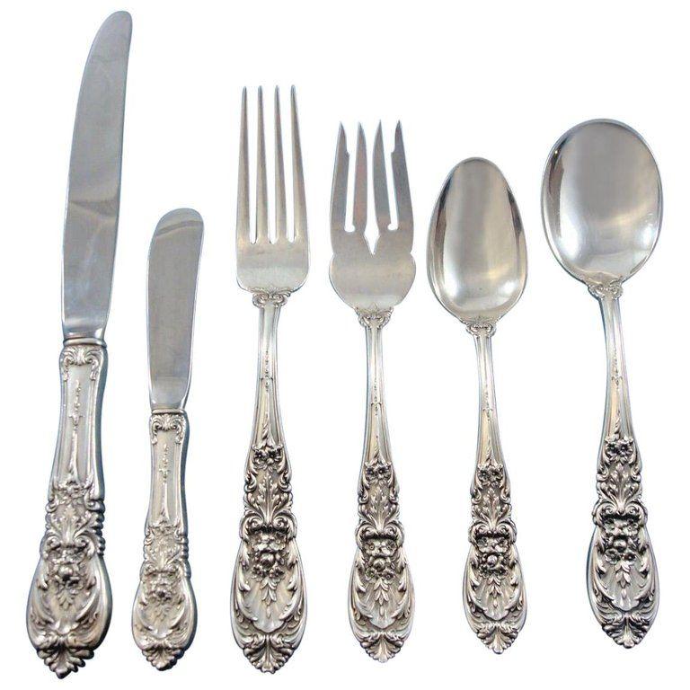 International Elegance Regular Fork Sterling Silver Flatware