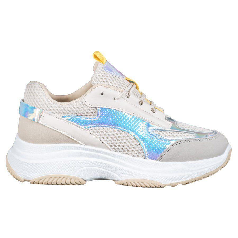 Bona Bezowe Sneakersy Z Siateczka In 2020 Shoes Puma Sneaker Puma
