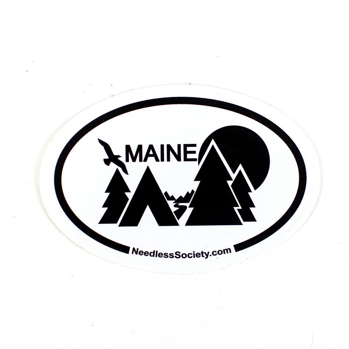 Maine Bumper Sticker Bumper Stickers Bumpers Stickers [ 1200 x 1200 Pixel ]