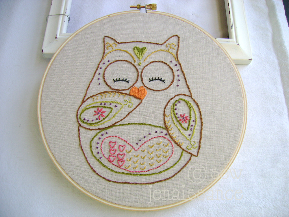 Hand Embroidery Quilt Patterns Embroidery Pattern By Sew Jen