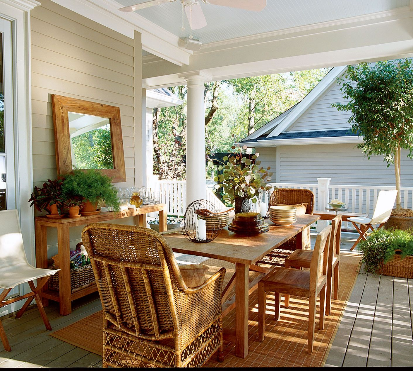 Back Porch Ideas: 76 Porch And Patio Designs You'll Love Year-Round