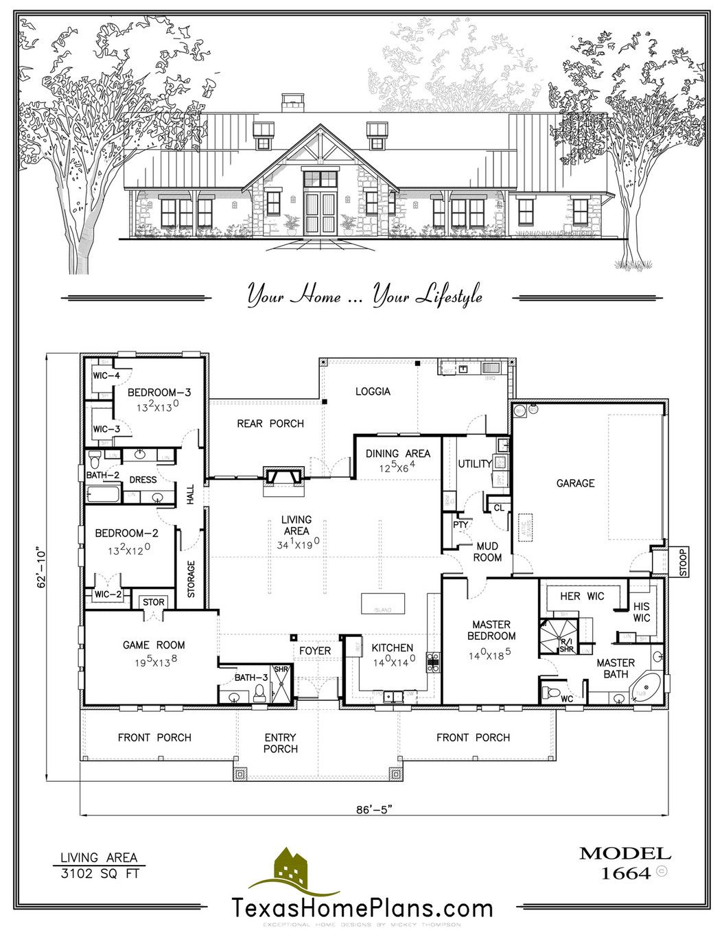 Texas Home Plans Texas Ranch Homes Page 80 81 Texas Ranch Homes Ranch House Texas Ranch