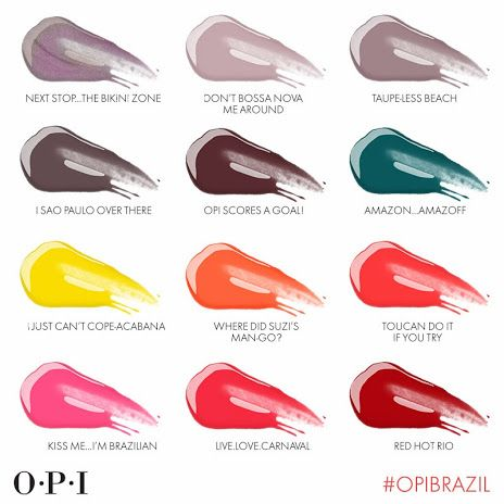 First Look: OPI to Launch Brazil Collection for Spring/Summer 2013
