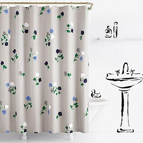kate spade shower curtain