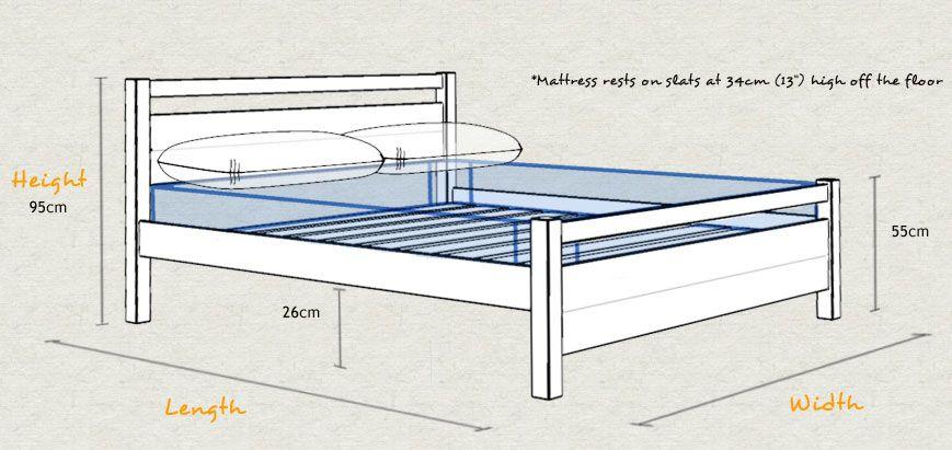 Image Result For Standard Bed Frame Height Standard Bed Frame