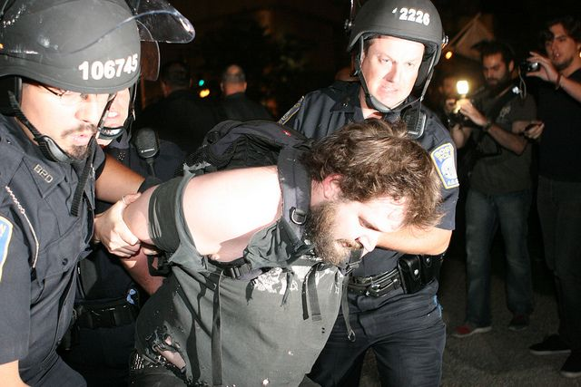 OccupyBoston_BPD-0801 by pweiskel08, via Flickr