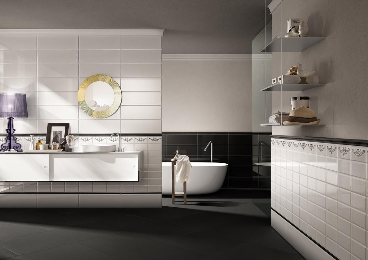 PIASTRELLE DOLCEVITA, bagno moderno ceramica bicottura #LaFaenzaCeramica http://www ...