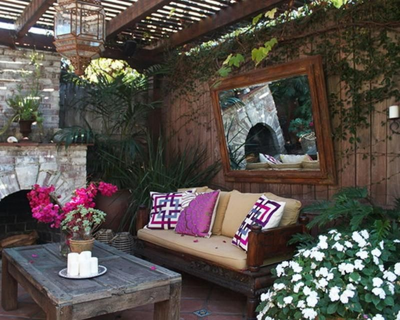14 Romantic Backyard Patio Design Ideas - Rilane | Create a Haven ...