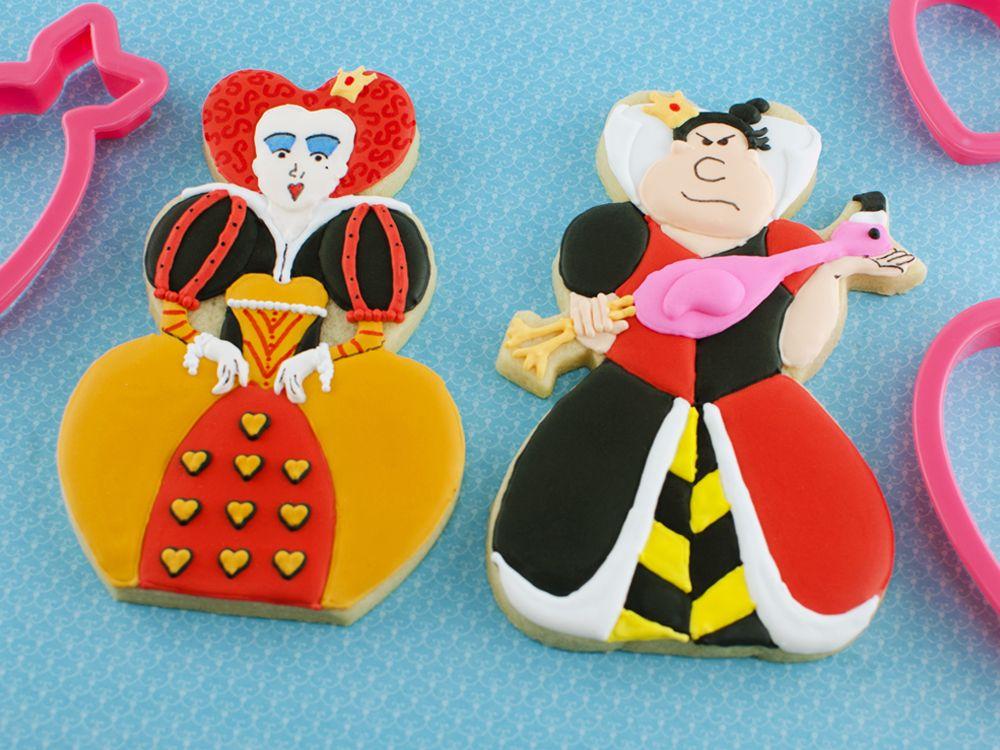 Queen of Hearts Cookies Tutorial