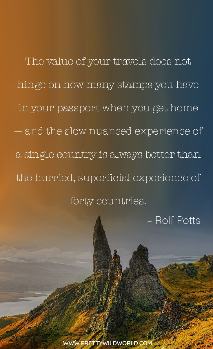 Landscape Quotes Inspiring Travel Quotes The 111 Quotes About Travel And Wanderers