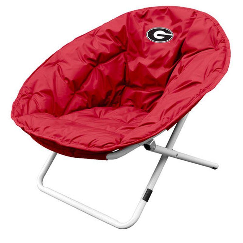 Georgia Bulldogs Sphere Chair   Red