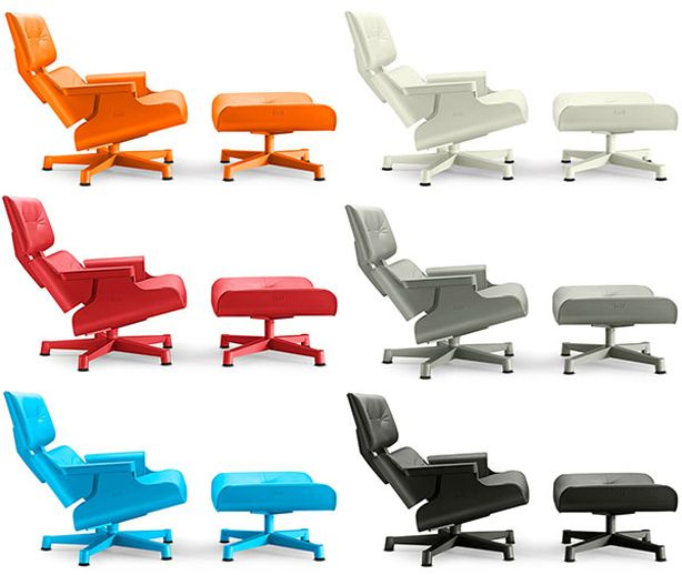 Chair Share | Mal 1956 Outdoor Chair | Rotational Molded PE Plastic  Inspired By Iconic Eames Lounge Chair