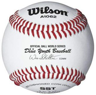 Wilson A1062 Dixie Youth Tournament Series Baseball 12 Pack White Want To Know More Click On The Image