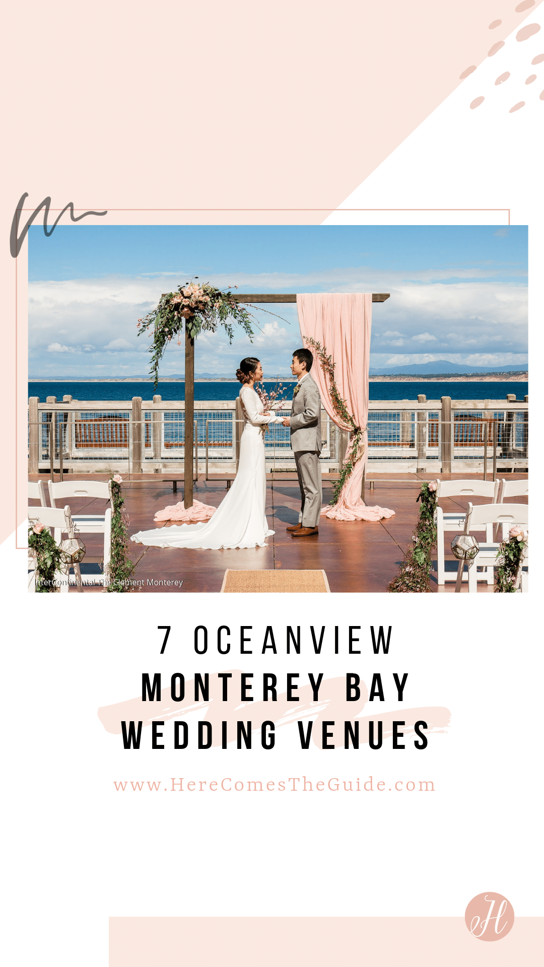 9 Wedding Venues On The Monterey Bay With Ocean Views See Prices Northern California Wedding Venues Northern California Wedding Wedding Venues Beach