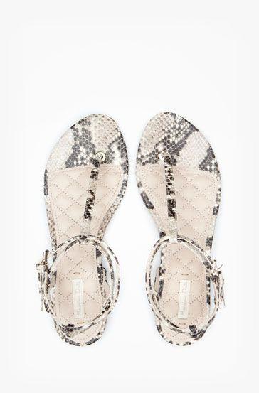 Sandalias Guatemala Zapatos Planas Serpiente Esclava Women 2WHID9eEY