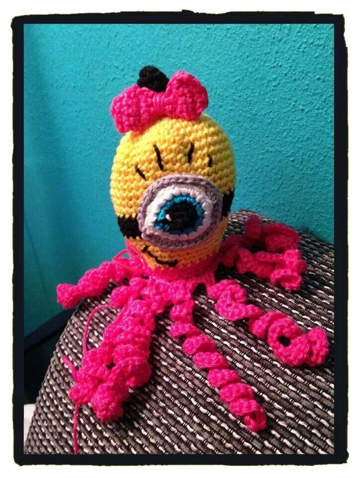 Deze mooi inktvis is gemaakt door Ilonka. | Diy: Baby/Toddler/Child ...