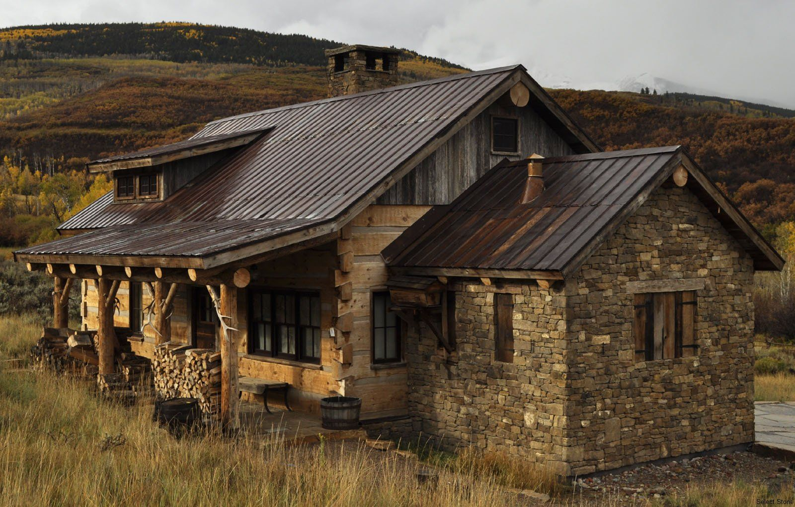 Rustic montana home cabins pinterest montana and cabin for Cabin builders montana