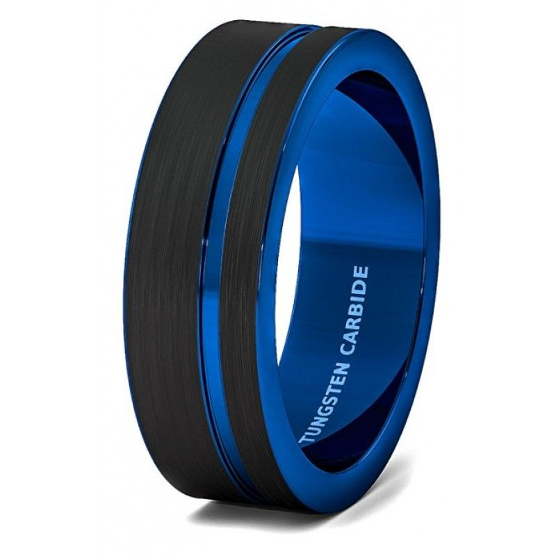 image result for men wedding ring black - Black Male Wedding Rings