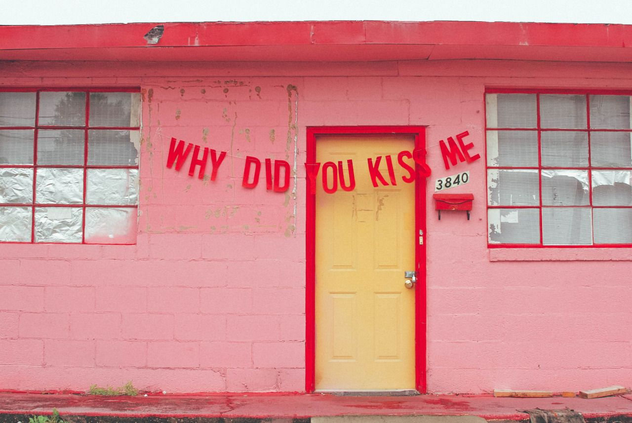"abandonedloveseries: "" why did you kiss me quote by anonymous // banner & photography by peytonfulford """
