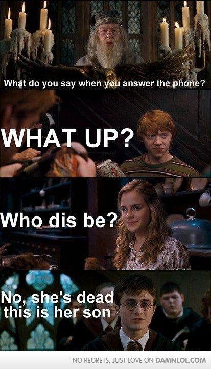 Harry Potter/ Glee