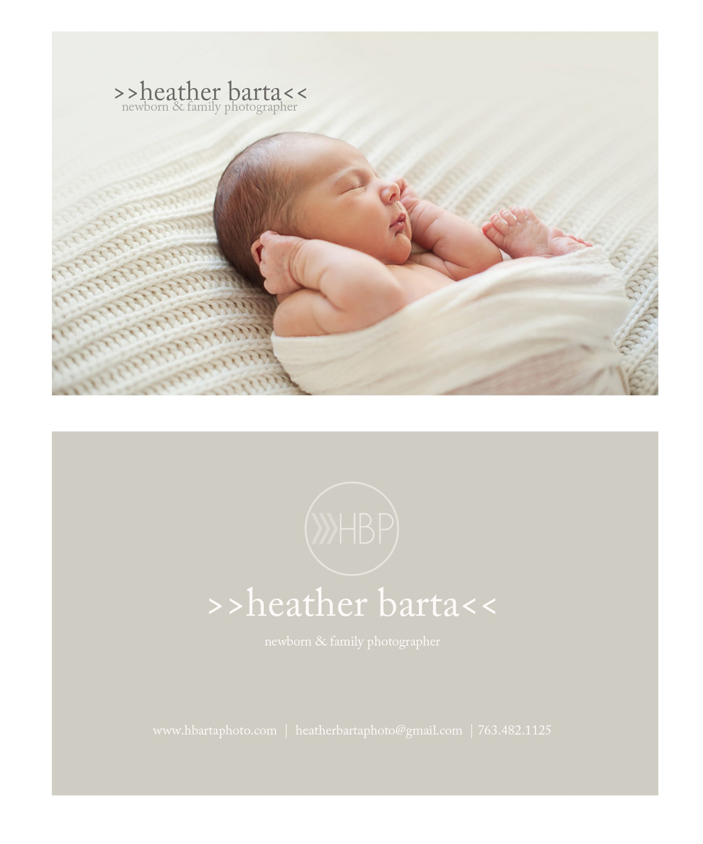 my new business cards newborn photographer baby photographer