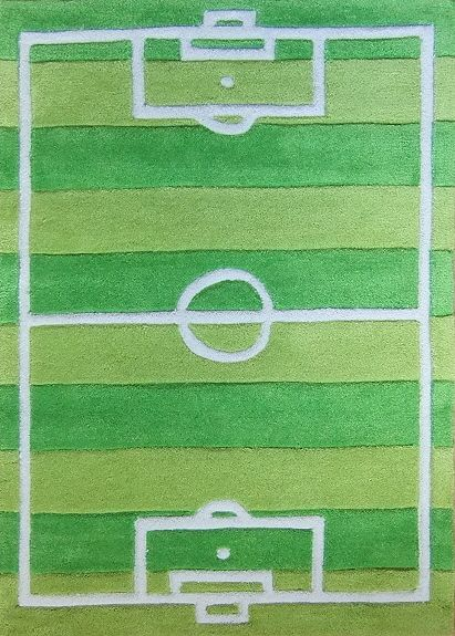 Children S Football Pitch Rug Kids Rugs From Fast Free Delivery Large Selection And Lowest Price Bedroom