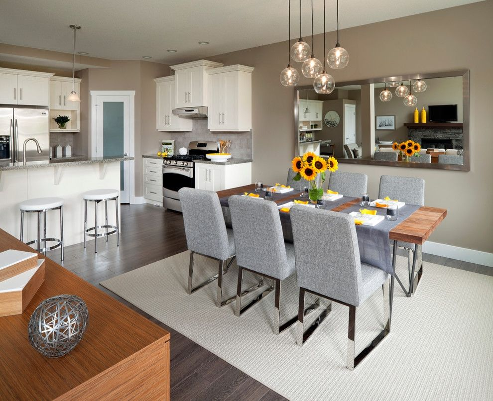 White Kitchen And Dining Room Designs For Small Spaces Captivating Dining Room Designs For Small Spaces Design Inspiration