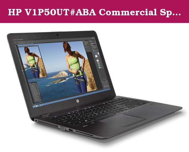 "HP V1P50UT#ABA Commercial Specialty Zbk3 15"" i7 6600U 256GB 8GB W7 10 Laptop. Zbook3 15U i7-6600u 15.6 8GB/256 PC Core i7-6600u, 15.6 FHD ag LED uwva, dsc, 8GB DDR4 RAM, 256GB SSD, BT, 3C battery, fpr, Win 10 Pro 64 dg Win 7 64, 3Yr warranty U.S. - English localization."