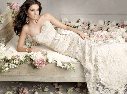 Simple or Sha-Zaam   Lace weddings, Wedding dress and Lace wedding gowns